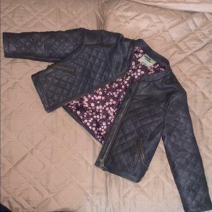 Toddles Gymboree  leather Jacket